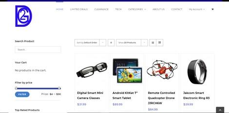 Deal 2 Get (E-commerce Website)