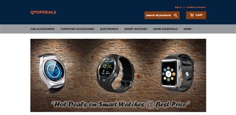 Q top deals (E-Commerce Website)