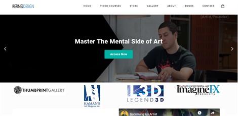 Refine The Design (E-commerce Website)